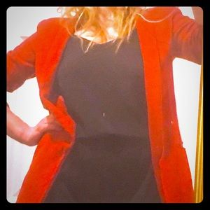 Red 70s/80s glam blazer - THE FACES- stay w me!